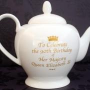 Back of Large Tea Pot