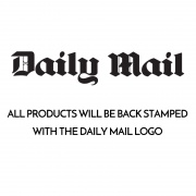 Daily Mail Back Stamped Logo